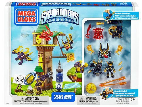 Mega Bloks Skylanders Tower of Time Building Set with Legendary Figures (95356) by Skylanders Giants