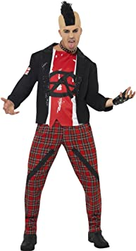 Ciclismo punk rock traje para disfraz Punk disfraz 80S Punk outfit ...