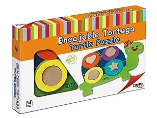 CAYRO–Scorrevole Tartaruga, Multicolore, 8109