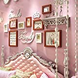 Photo Wall, Combination Of Wedding Wall, Solid Wood Photo Frame Photo Frame, Wedding Gift Frame, Girls Shelf ( Color : 1# )