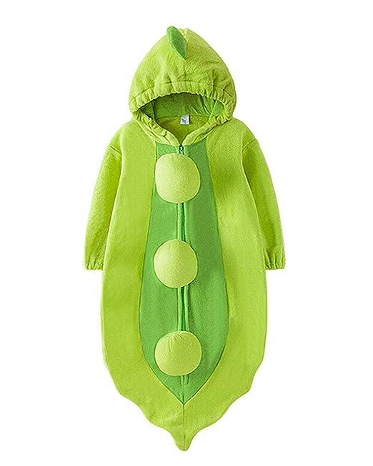 Samgu Guisante Frijol Bebé Ropa Equipar Disfraz Dormido Bolso Envolver Sleepsack Saco de Dormir: Amazon.es: Ropa y accesorios