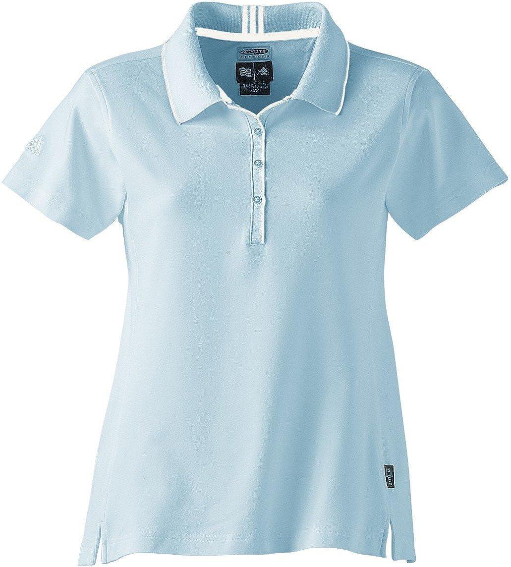 adidas Golf A10 Climalite - Polo de Enclavamiento elástico, Enamel ...