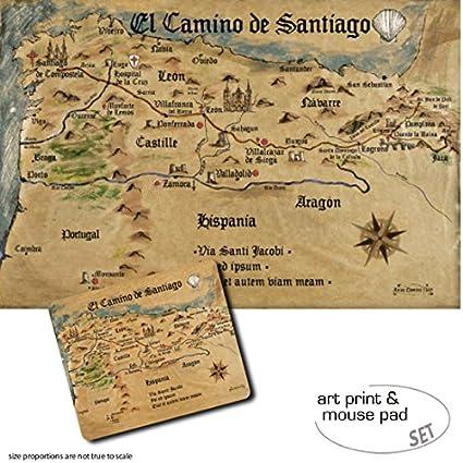 1art1 Camino De Santiago De Compostela, El Camino De ...