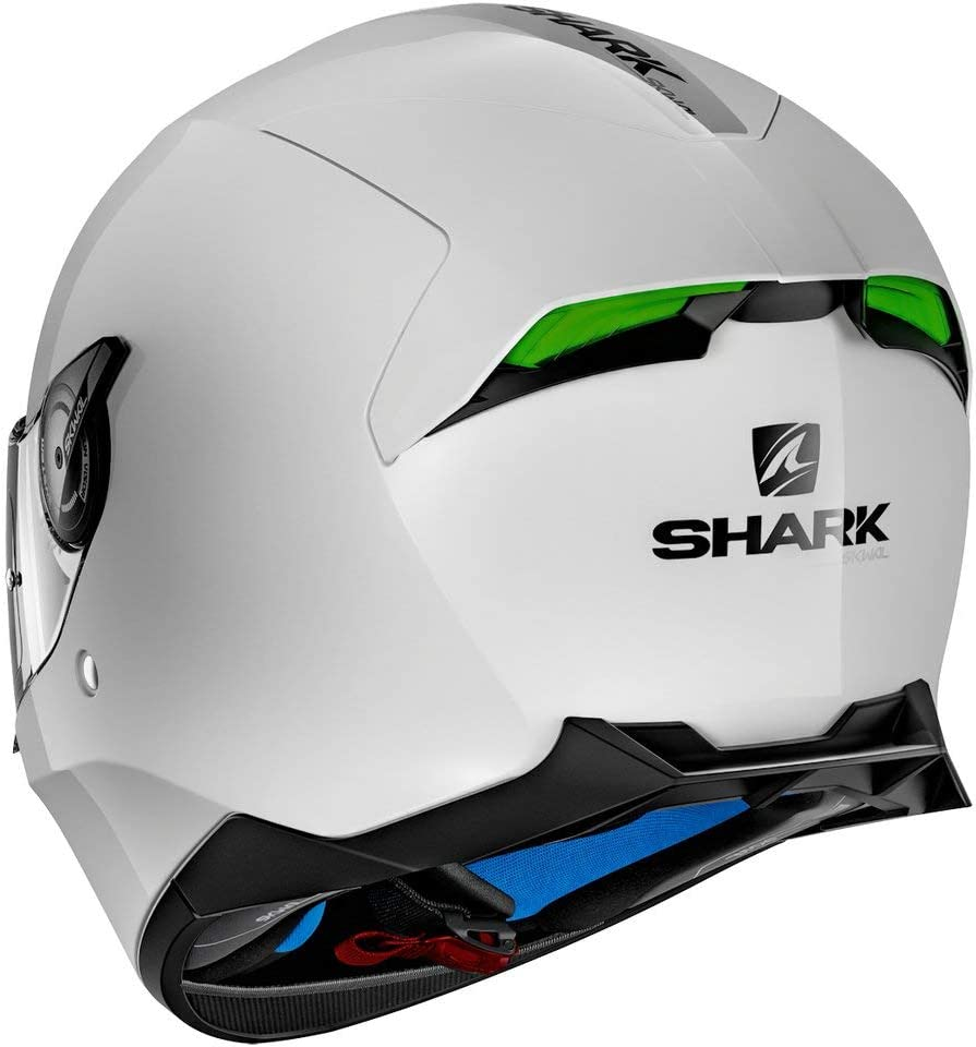2018 Model Shark Skwal 2 Draghal Green Yellow LED Helmet Fast /'N Free Shipping