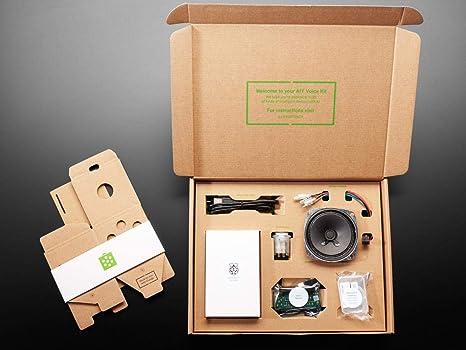 AdaFruit Google AIY - Kit de Voz para Raspberry Pi V2: Amazon.es ...