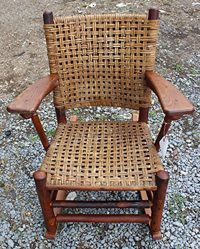 Superb Antique Old Hickory Arm Rocking Chair f373 - Amazon.com: Superb Antique Old Hickory Arm Rocking Chair F373