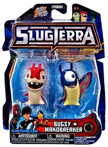 Jakks Pacific Slugterra Series 5 Bugsy & Makobreaker Mini Figure 2-Pack