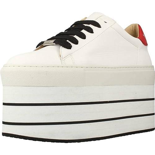 Calzado Deportivo para Mujer, Color Blanco, Marca YELLOW, Modelo Calzado Deportivo para Mujer YELLOW Aquaria Blanco: Amazon.es: Zapatos y complementos