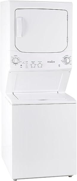 Mabe MCL6840PSBB Independiente Carga superior Blanco lavadora - Lavadora-secadora (Carga superior, Independiente, Blanco, Arriba, Botones, Giratorio, Acero inoxidable): Amazon.es: Hogar
