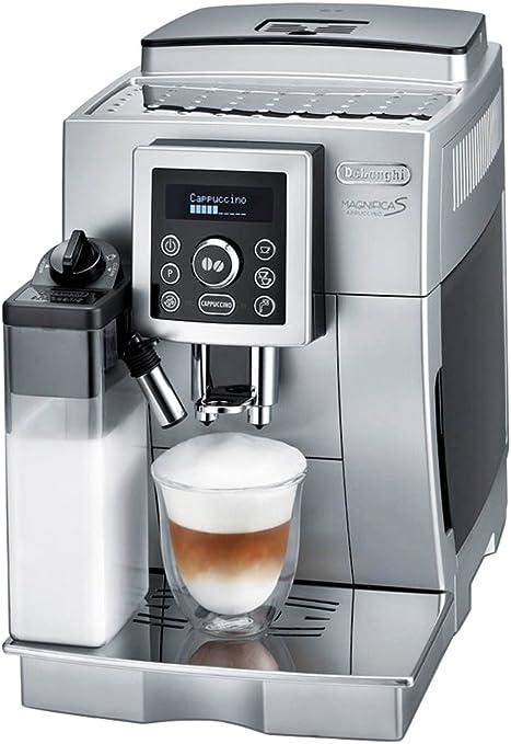 DeLonghi ECAM 23.460.S - Cafetera (Independiente, Máquina espresso, 1,8 L, Molinillo integrado, 1450 W, Plata): Amazon.es: Hogar