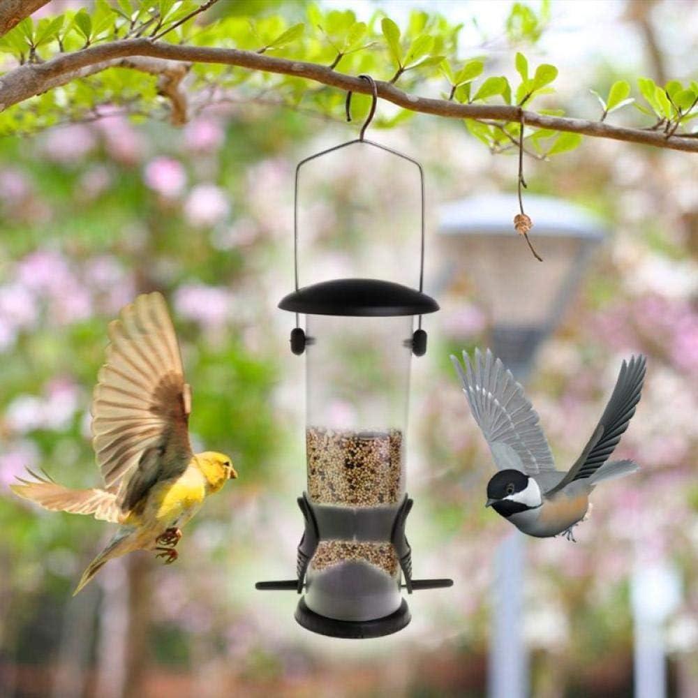 Gifftiy Bebederos para Pajaros Comedero Pajaros Silvestres Comedero para Pájaros Mango De Hierro Colgando Árbol Parque Jardín Aves Silvestres Alimentación Portátil Al Aire Libre