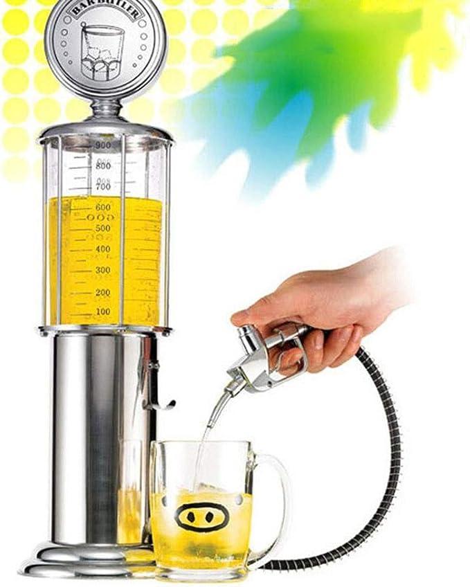 Creativa Bebidas dispensador automático de bebidas, único vino de Oporto / dispensador de la cerveza, ABS galvanoplastia Agua dispensador de zumo latas de agua fría del barril conveniente for el hogar: Amazon.es: