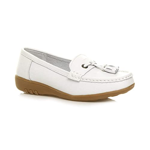 Confortable Femme Tamaris Chaussures bateau corail Grande
