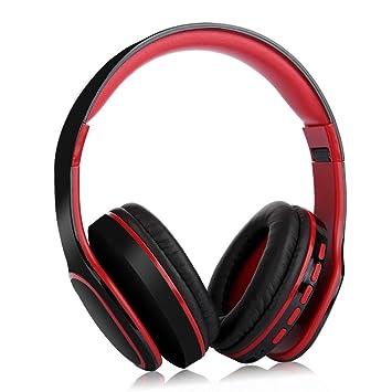 lennonsi Auriculares de Diadema Bluetooth, Cascos Bluetooth Plegable para con Micrófono, Estéreo Ligero Manos