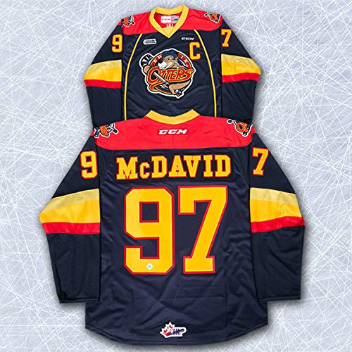 Connor McDavid Erie Otters CCM Premier Hockey Jersey - Size XL