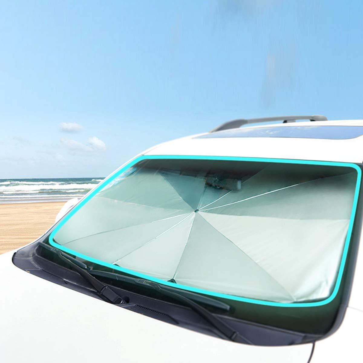 SANON Auto Coche Frente Ventana Trasera Visera Parabrisas Bloque Protector Parasol Protecci/ón Ultravioleta Parasol Pel/ícula para Coche Protector Solar Coche Protector Solar