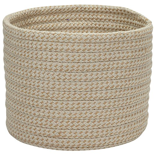 Colonial Mills Softex Check Utility Basket, 14 by 10-Inch, Pale Banana (Softex Banana Pale)