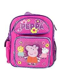 Small Backpack - Peppa Pig - Pink School Bag New 107448