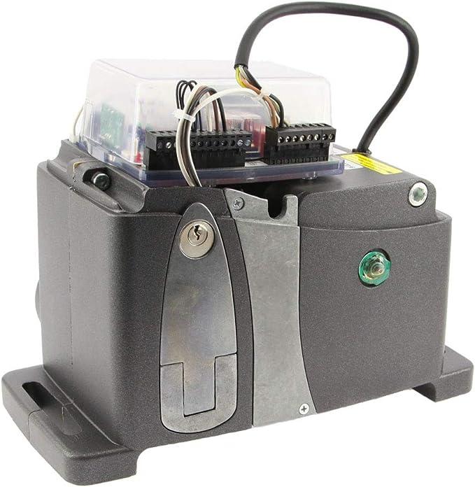 VDS AG Future motor corredera para automatizar puertas, portones, cancelas correderas de hasta 1600kg, con central de control, receptor de radio y 2 mandos a distancia. (Peso puerta hasta 800kg): Amazon.es: Bricolaje