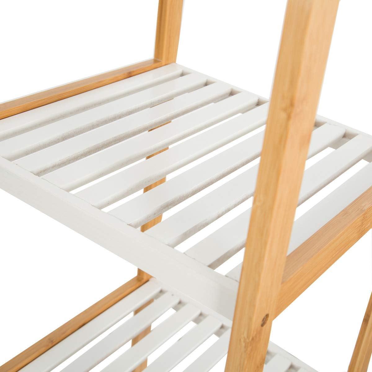 Zedelmaier Bambus Standregal Badregal K/üchenregal B/ücherregal verschiedene Modelle 3 Ablage