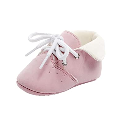 Voberry Kids Shoes Baby Girls Boys High Sneakers Autumn Winter Leather Boots Shoes