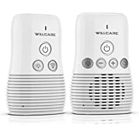 Willcare Baby Monitor, Portable Digital Audio Baby Monitor with Up to 1000ft Operating Range, Two-Way Talking Feature…