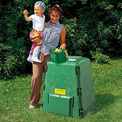 AeroQuick 77 Gallon Recycled Plastic Compost Bin