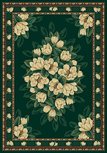 (United Weavers Country & Floral Rectangle Area Rug 1'10