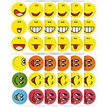 Mosquito Repellent Patches, Fosmon [60 Count] 100% Natural Non-Toxic DEET Free Anti-Mosquito Stickers - Kids, Adult & Pet Friendly for Summer, Outdoors, Camping, Fishing, Travel - (Smiley Face Design)