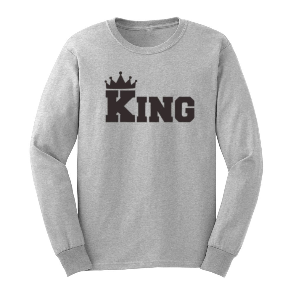 S King Crown Design T Shirts Casual Tee