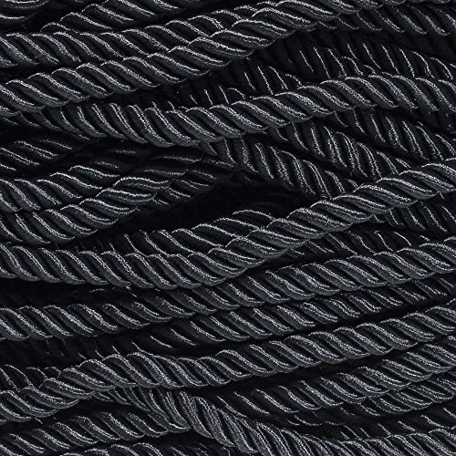 West Coast Paracord Twisted Decorative Trim Cord - Polyester/Cotton Blend - Ultra Soft 3/8