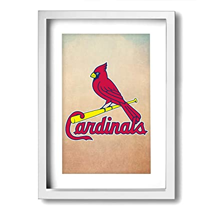 Amazon Com Jemeira Atwood St Louis Cardinals Framed Wall Art