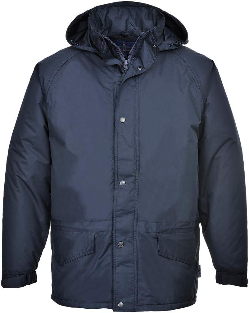 Portwest US530NARS Regular Fit Arbroath Breathable Fleece Lined Jacket Navy Small