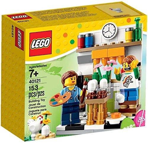 LEGO Painting Easter Eggs Painting Easter Eggs Set 40121 -