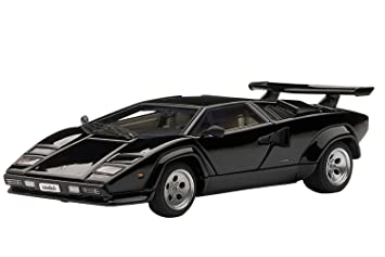 Lamborghini Countach 5000S (Black) (Diecast Model) By Autoart