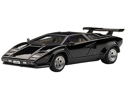 Buy Lamborghini Countach 5000s Black Diecast Model By Autoart