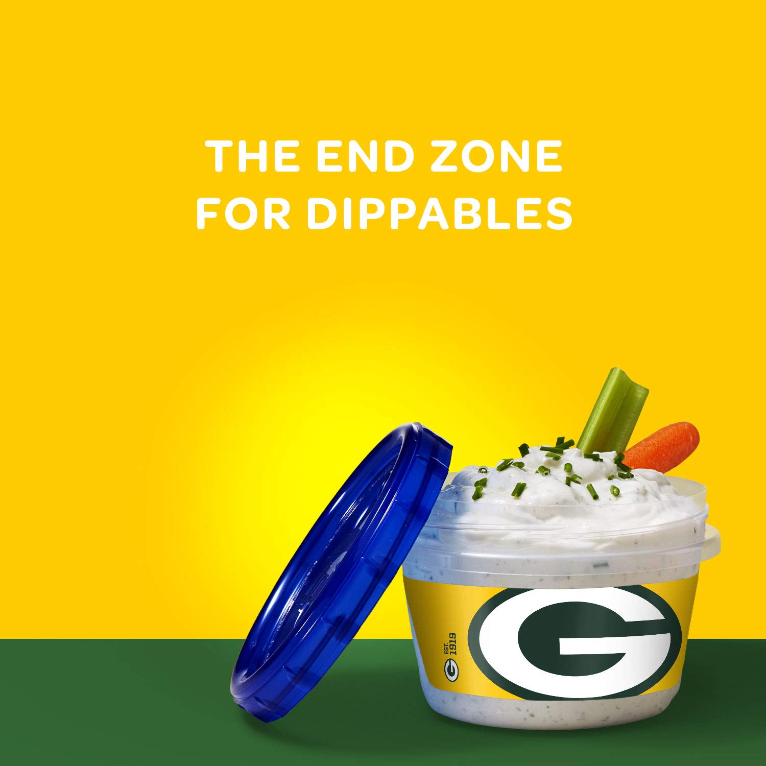 Amazon.com : Ziploc Brand NFL Green Bay Packers Twist n Loc Containers, Small, 2 ct, 3 pack : Grocery & Gourmet Food