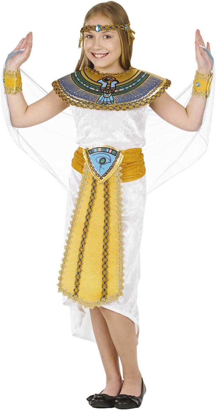 Fun Shack Blanca Reina Egipcia Disfraz para Niñas - M: Funshack ...