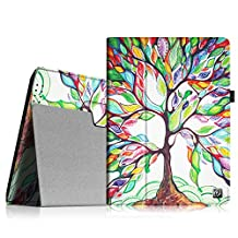 Fintie iPad 2/3/4 Case - Slim Fit Folio Case with Smart Cover Auto Sleep / Wake Feature for Apple iPad 2, the new iPad 3 & iPad 4th Generation with Retina Display - Love Tree