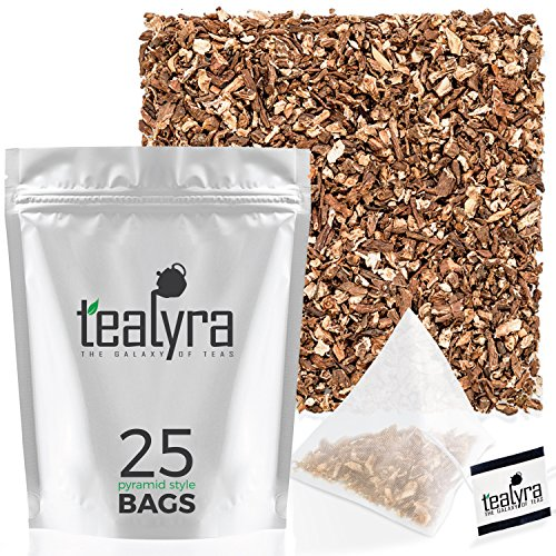 Tealyra - Pure Dandelion Root - 25 Bags - Organically Grown