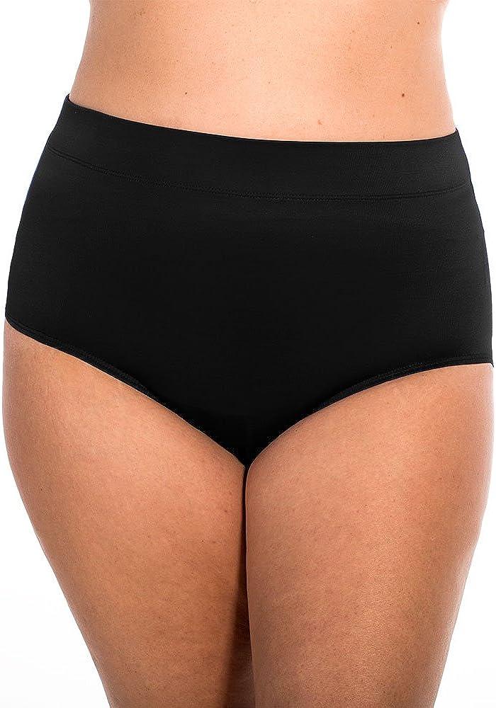 Miraclesuit Solid Basic Brief Swim Bottom (6513001)