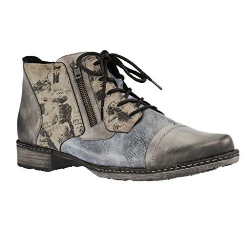 D4378, Womens Combat Boots Remonte