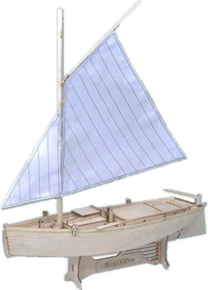 Ship Assembly Model DIY Kits Wooden Sailing Boat Decoration Wood Toy Gift Decor