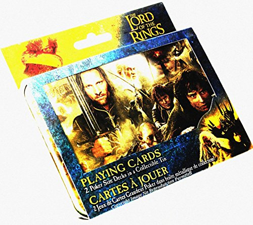(Lord of the Rings Double Deck of Playing Cards in Collectors Tin)