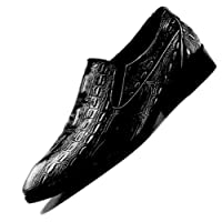 Bebete5858 Men's Handmade Leather Modern Classic Leather Dress Oxfords Shoes