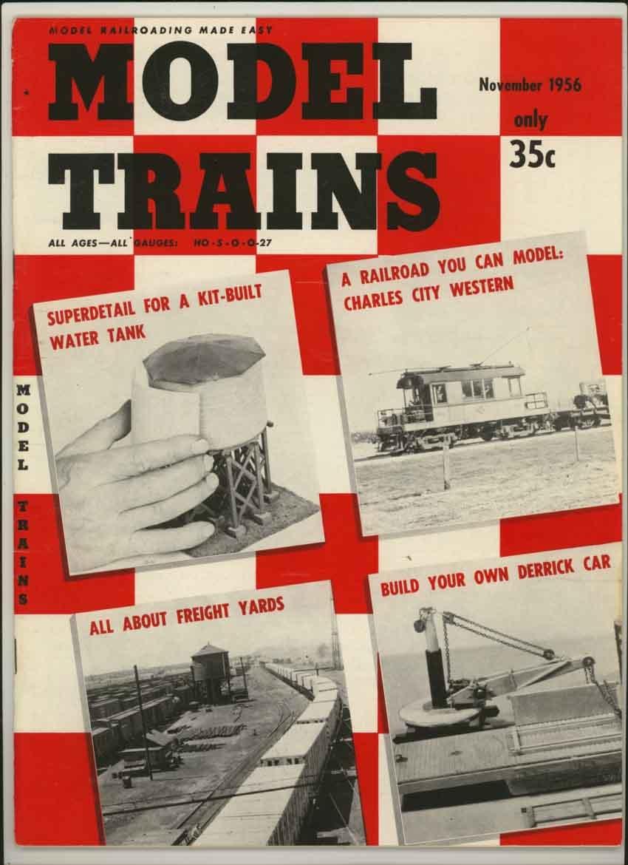 Model Trains Magazine, November 1956 (Vol. 9, No. 9)