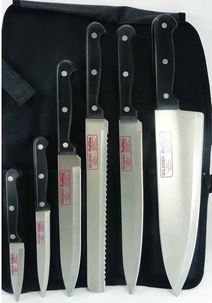 Solingen Germany Profiline Chef knife set
