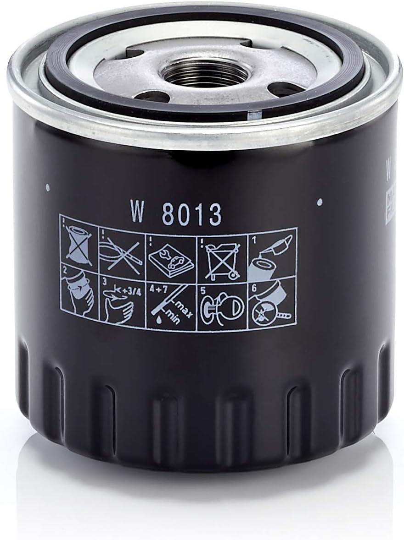 Original Mann Filter W 8013 Schmierölwechselfilter Für Pkw Auto