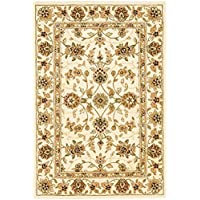 Safavieh Traditions Collection TD602A Handmade Ivory Wool Area Rug (4 x 6)