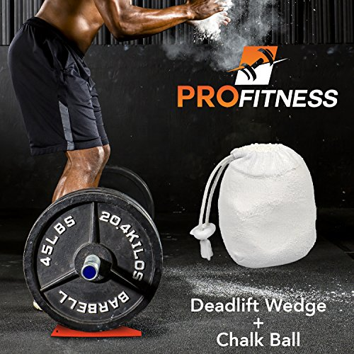 Cheap The Dead Wedge – Deadlift Jack Alternative for Your Gym Bag – Raises loaded barbell & plates for effortless Loading/Unloading. Perfect for Powerlifting, Weightlifting, Cross Home Gym & Deadlifts